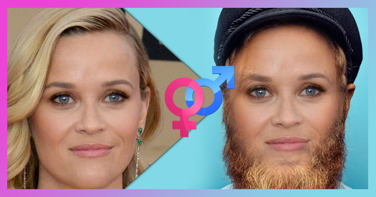 What Would You Look Like As The Opposite Gender?