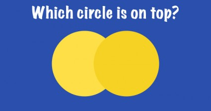 Only 4 Can Find The Circle On Top Without Making A Mistake